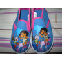 Espectaculares Zapatillas De Dora La Exploradora