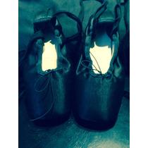 Zapatillas De Punta Talle 37,5, Un Sólo Uso, Impecables