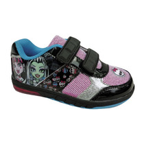 Zapatillas Monster High Con Luces Originales Abrojos Mattel