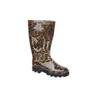 Bota De Lluvia Leopardo Stone