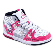 Zapatillas Kitty Con Luces Originales Footy - Mundo Manias