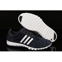 Zapatillas Adidas Fluid Trainer Tt L Nuevos De Cuero!