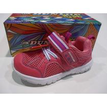 Zapatillas Bebe Nena Dunlop Running Visp Original De Fabrica