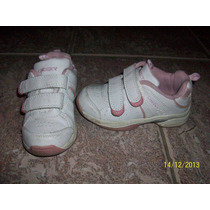 Zapatillas Cheeky Con Abrojo, Escolares Talle 24