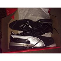 Zapatillas Puma Negras Talle 10,5 Usa. Nuevas!