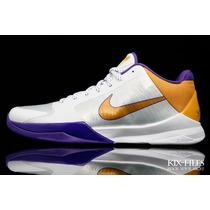 Zapatillas Nike Kobe Zoom Los Angeles Lakers 5 11 Us
