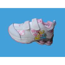 Zapatillas Niña Princesa Con Luces!
