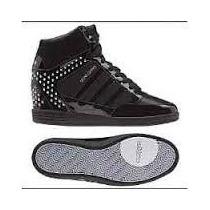 Botas Adidas De Mujer-neo Selena Gomez-color Negro