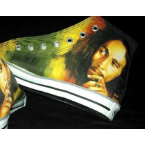 Zapatillas Personalizadas Bob Marley
