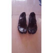 Zapatillas Rift Dedo Partido Talle 38 De Cuero Negra 800$