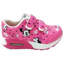 Zapatilla Disney Minnie Retro Velcro