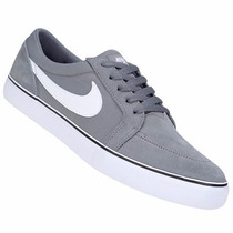 Zapatillas Nike Sb Satire 1.5 (gris+blanco) Mpis H