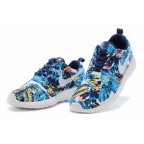 Zapatillas Nike Roshe Hombre Cebra Originales En Caja