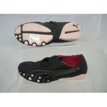 Zapatillas Puma Amoko Cuero Cuero Negro Mujer Talle 40 Orig!