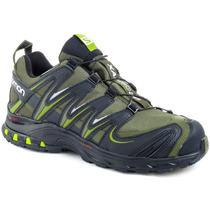Zapatillas Salomon Xa Pro Cs Wp Impermeables Trekking Hombre