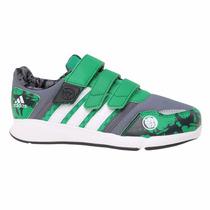 Zapatillas Adidas Avengers Hulk Low Velcro Niños