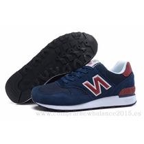Zapatillas New Balance. Hombre Color Azul Y Bordo!