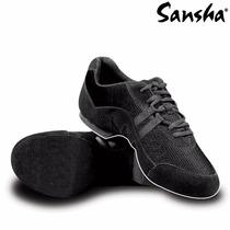 Zapatillas De Jazz Marca Sansha Modelo Salsette