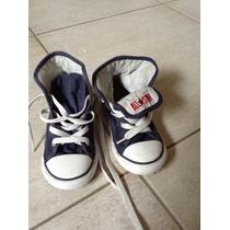 Zapatillas All Star Converse Importadas Talle 10 Color Azul