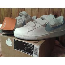 Zapatillas Nike Con Abrojo De Cuero
