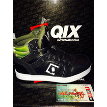 Zapatilla Qix Hollywood Duke Negra Niño Botitas*zona Munro*