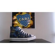 Zapatillas De Boca Juniors Tipo Allstar