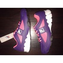 Zapatillas Running Mujer Nena Talle 37 Fila