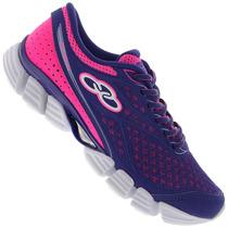 Zapatillas Olympikus Modelo Running Delicate 2 Violeta/fuxia