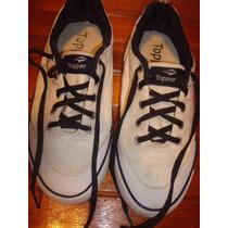 Zapatillas De Lona Topper Nº 37.5 (nauticas)