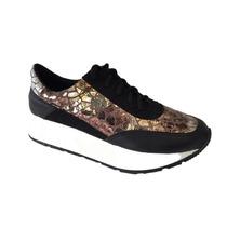 Zapatillas Sneakers Plataforma Mujer Araquina