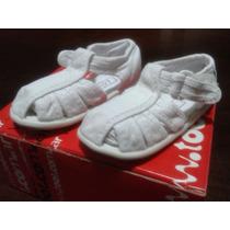Zapatillas De Nena Toot Blancas Nº 21