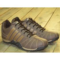 Zapatillas De Cuero Fierros - Talle 46 - Envíos Al Interior