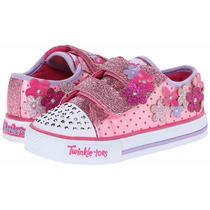 Skechers Twinkle Toes Pretty Blossoms - Bazzarola