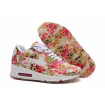 Zapatillas Nike Air Max Floreadas Mujer