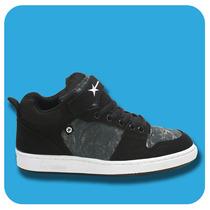 Zapatillas Krial Yan 678 Negro Skate Hombre Mujer