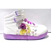 Zapatillas Botitas Rapunzel Princesas Disney Addnice Con Luz