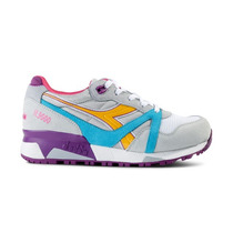 Zapatillas Diadora N9000 (azul / Amarillo / Purple)