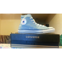 Zapatillas Bota Converse Ct All Star Hi Chuck Taylor Argent.