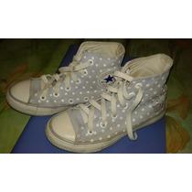 Zapatillas Botitas Converse-all Star De Nena-impecables !!