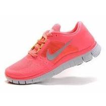 Zapatillas Nike Free 3 5.0 Modelo 2015 Mujer