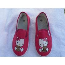 Zapatilla Niña Hello Kitty A Estrenar Varios Numeros Y Co