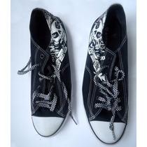 Zapatillas Hombre, Verano, Estampa Calaveras Importadas Usa