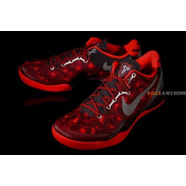 Zapatillas Basketball Nike Kobe Zoom 8 Talle 11 Us Rojas