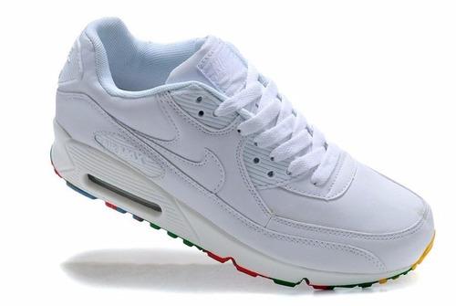 0a07fb70a zapatillas air max blancas mujer