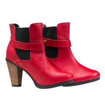 Botas Mujer Botita Botineta Zapatos Almacen De Cueros