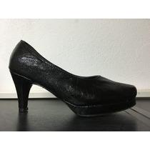 Zapato De Vestir De Taco Y Plataforma