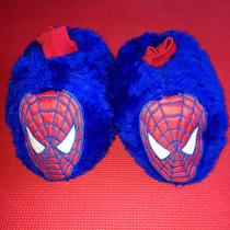 Pantuflas De Niño Spiderman