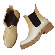 Botitas Borcegos Zapatos Mujer Botas Bajas Cortas Abotinados