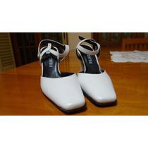 Zapatos Sandalias Lucerna Punta Cuadrada - Nuevos