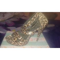 Zapato Mujer Leopardo